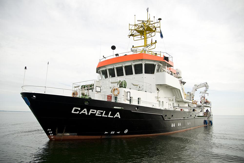 Forschungsschiff Capella